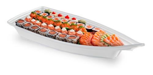 Barca Barco Açai Sushi Sashimi 42x18x7,0cm Grande