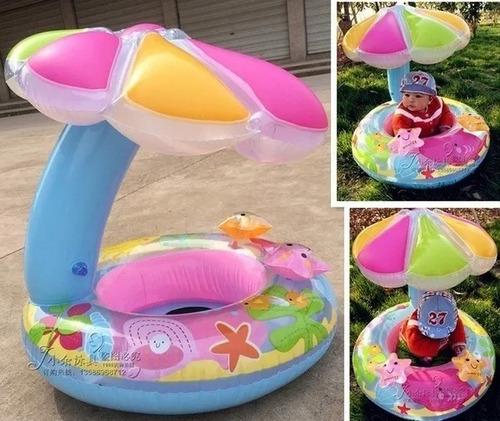 Boia Bote Bebê Cobertura  Fralda Infantil Inflável Proteção