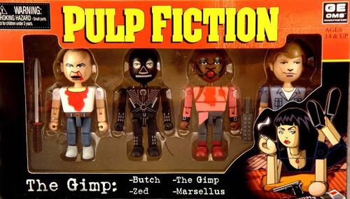 Pulp Fiction Geoms The Gimp Tiempos Violentos Neca