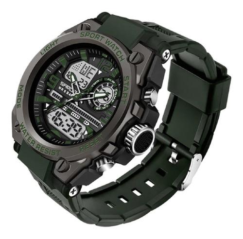 Relógio Masculino Sanda 6024 Militar Prova D'agua Original
