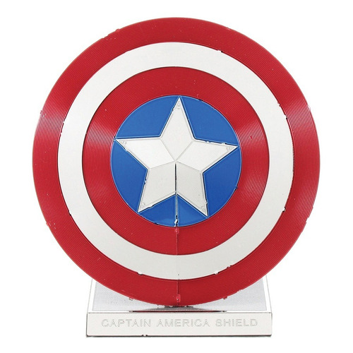 Fascinations Metal Earth Escudo Capitán América Para Armar