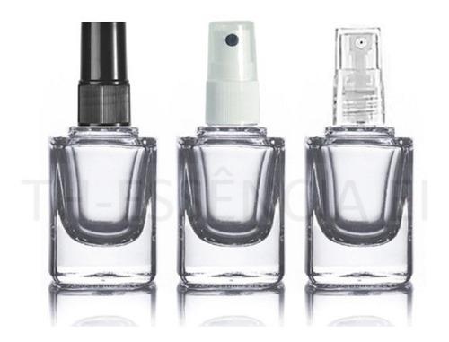 10 Frascos 10ml Spray De Vidro Para Amostra De Perfume.