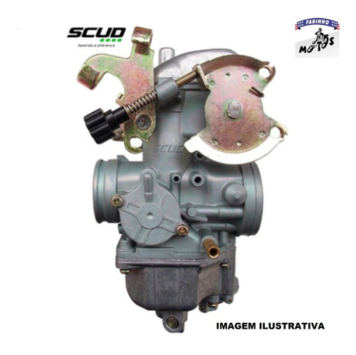 Carburador Completo Cbx 200 Strada - Scud