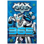 Livro 365 Max Steel Atividades E Desenhos Para Colorir