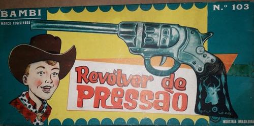 Revólver De Rolha Bambi Novo Modelo Branco Não Espoleta