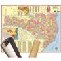 Mapa Santa Catarina 120 X 90cm Gigante Enrolado