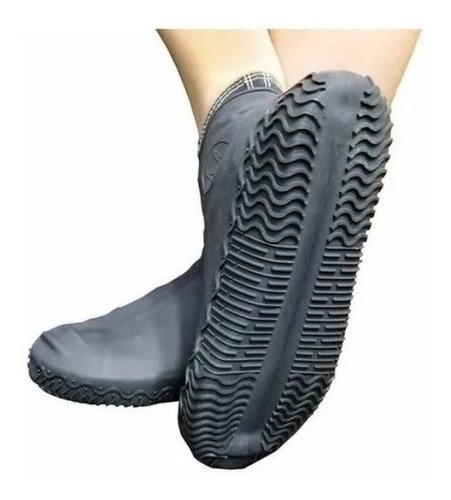 Capa Chuva Sapato Tenis Moto Protetor Silicone Calçado Rave