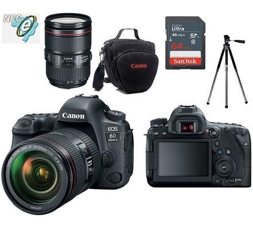 Canon 6d Mark Ii 24 105mm Is Ii Bolsa tripé 64gb Nota Fiscal