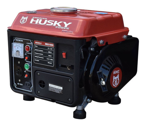 Generador Portátil Swedish Husky Power Hkg1000 900w 110v