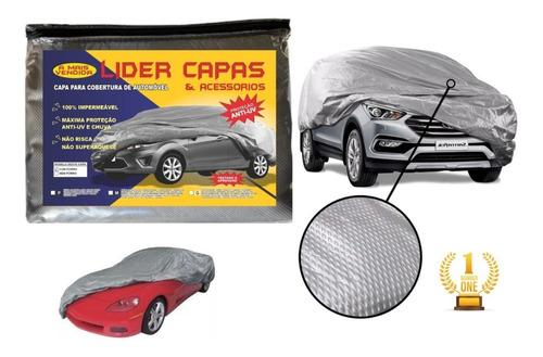 Lona Grossa Texturizada Cobrir Carro Proteção Solar E Chuva