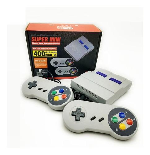 Console Retrô Vídeo Game Jogos Super Nintendo E Fliperama