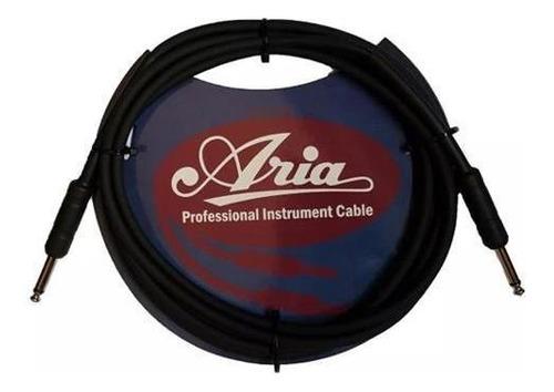 Aria Ipch2413bk Cable 3 Metros Plug Termocontraible Color Ne