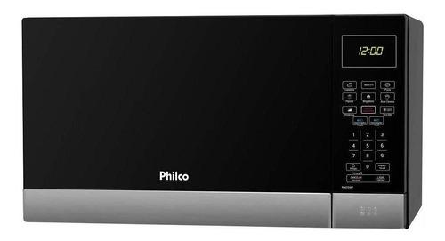Micro-ondas Philco 26 Litros Pmo26ip Preto Com Inox 220v