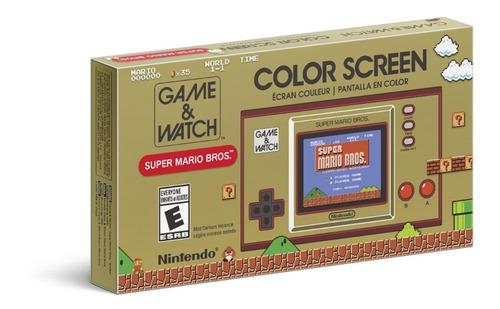 Console Game E Watch Super Mario Bros Edition Nintendo