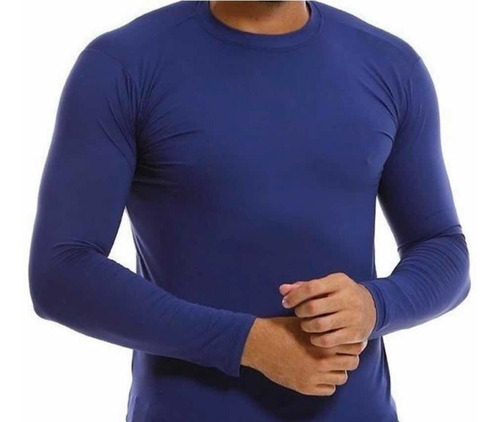 3 Camisas Proteção Solar Térmica Masculina Segunda Pele Uv50