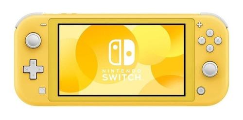 Nintendo Switch Lite Amarelo + Acessórios!