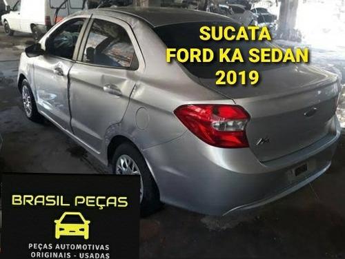 Sucata Ford Ka Sedan 2019 Para Retirada De Peças