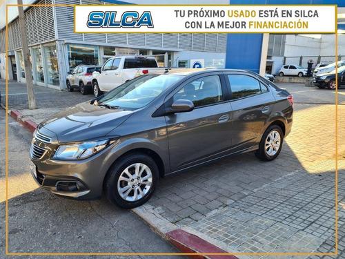 Chevrolet Prisma Ltz 2015 Gris Oscuro 4 Puertas