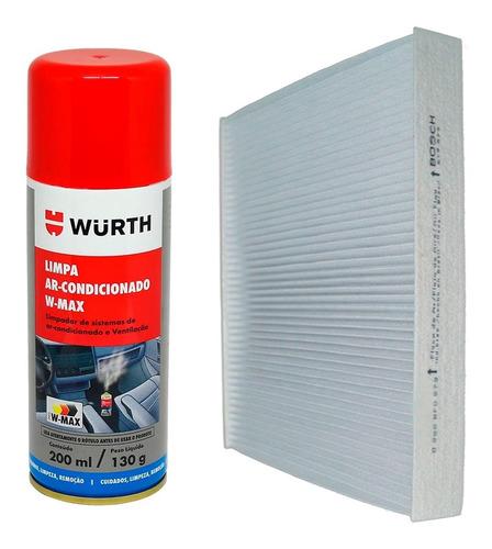 Filtro Cabine Ar Condicionado Bosch Spray Higienizador