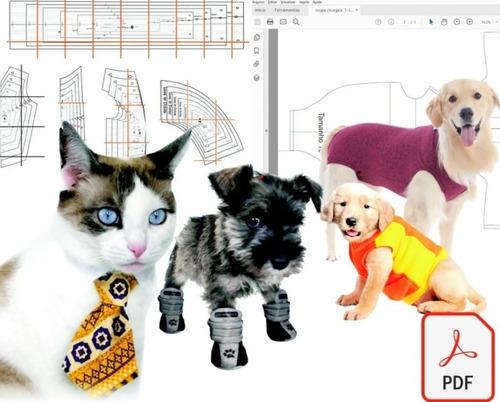 Kit 55 Moldes Modelagem Pet Cães E Gatos Roupas + Cirúrgicas