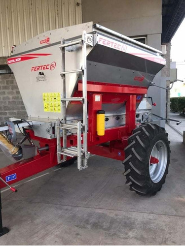 Fertilizadora Fertec 3000, De Acero Inoxidable.