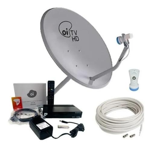 Kit Oitv Livre Por 2 Anos Antena De 75 Cm