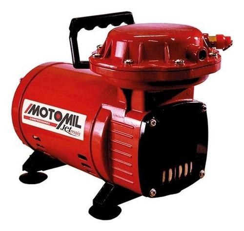 Compressor De Ar Mini Elétrico Portátil Motomil Jetmais Monofásica 127v/220v