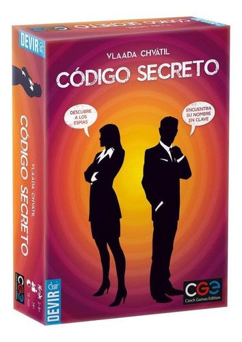 Juego De Mesa Código Secreto Devir