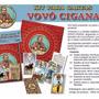 Kit Vovó Cigana Baralho Cigano Toalha Mandala Bolsa Manual