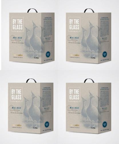 Las Perdices Bag In Box Malbec Caja X4-3lts-oferta Celler