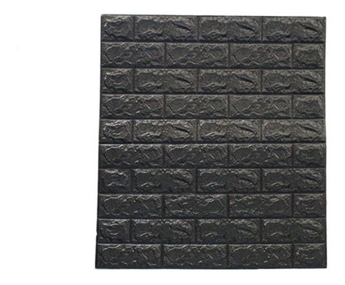 Placa Autoadhesiva Para Pared 70x77c- Negro