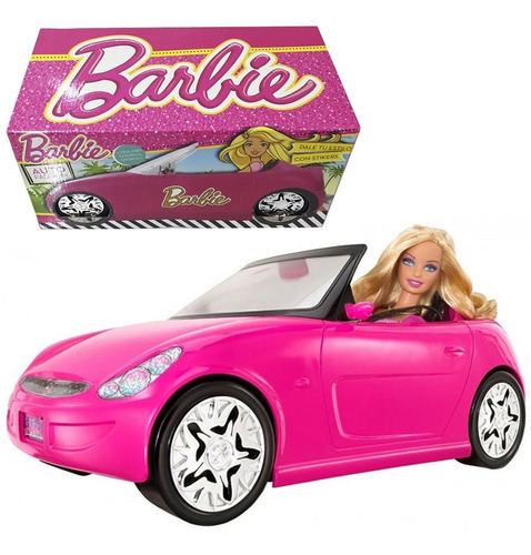 Auto Muñeca Barbie Fashion Original 30cm New Cod 710 Bigshop