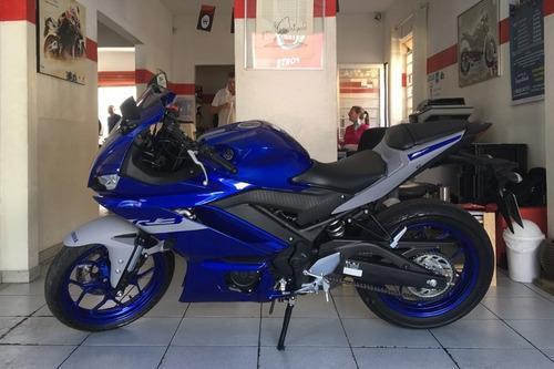 Yamaha Yzf R3 Abs Azul 2021