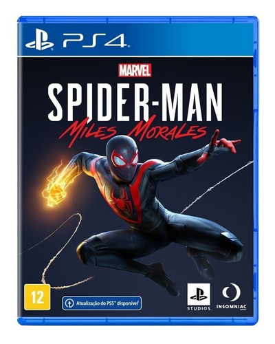 Marvel's Spider-man: Miles Morales Standard Edition Físico Ps4 Sony
