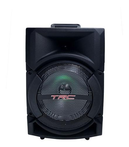 Caixa De Som Bluetooth Amplificada Trc 5522 220w C Microfone