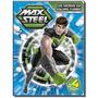 Livro Quebra cabeca Max Steel Os Herois Da Equipe Turbo