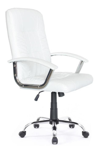 Cadeira De Escritório Presidente Carter Healer Branca