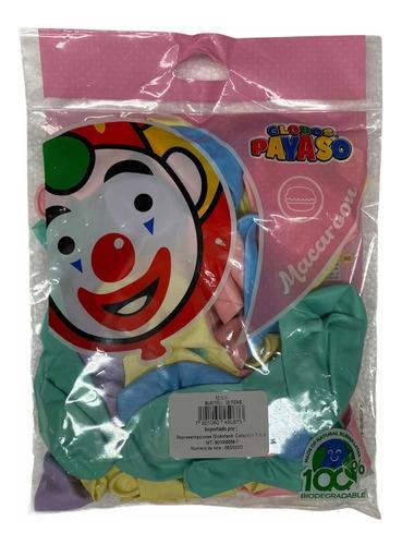 Paquete De Globos Colores Pastel X50unidades