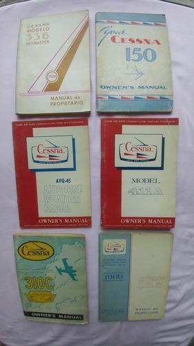 Manuales De Aviones Antiguos. Colección.