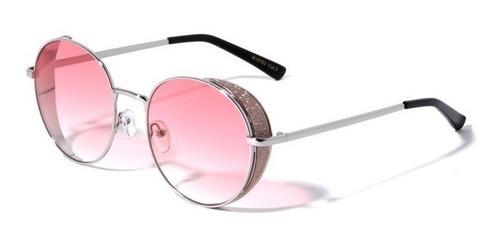 Lente De Sol Metálico De Color Rosado, Glasses G3, M10762