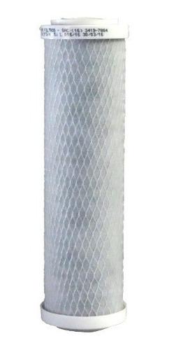 Refil Carvão Ativado Carbon Block Declorador 9.3/4 5 Micras