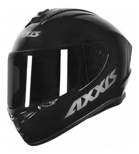 Capacete Axxis Draken Solid Sólido Moto Esportivo Fechado Mt