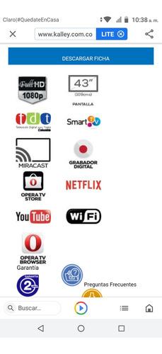 Tv. Kalley Smart Tv