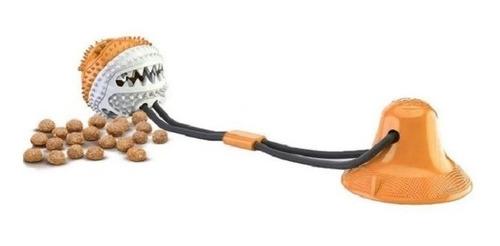 Brinquedo P/ Cães Push Ball Pet Com Ventosa Bola De Petisco