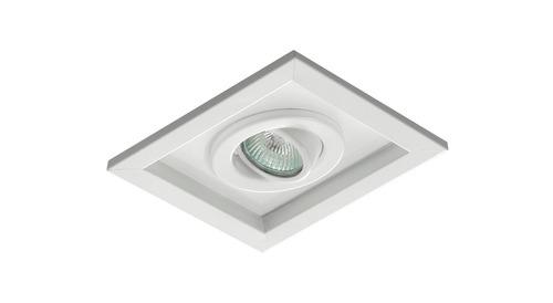 Plafon Embutir Downlight Orientável P/ 1 Lampada Ar111
