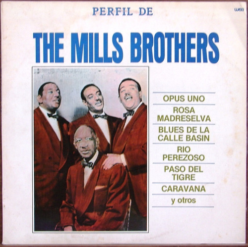 The Mills Brothers - Perfil De...- Lp Año 1986 - Jazz Vocal