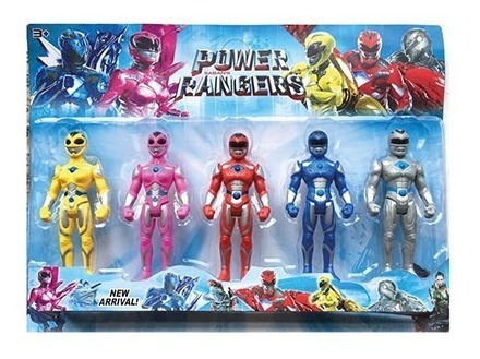 Figura Power Rangers 6  Con Luz