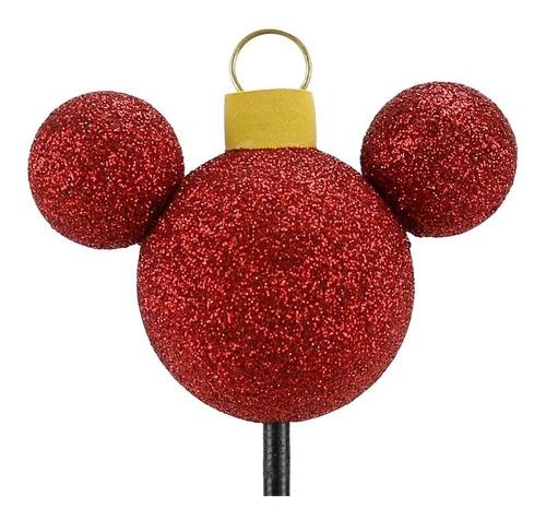 Enfeite Para Antena De Carros Mickey Bola Árvore De Natal