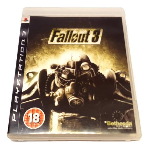 Fallout 3 - Ps3 (mídia Física, Original)