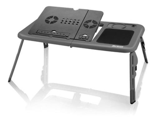 Mesa Cooler Para Notebook Multilaser Preto 4 Ac127